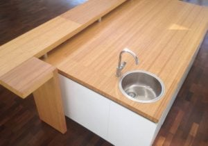 We learn what the benefits of bamboo plywood countertops.
